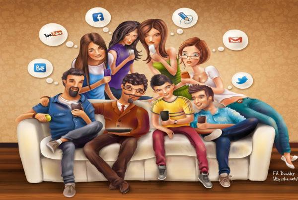 generazione social