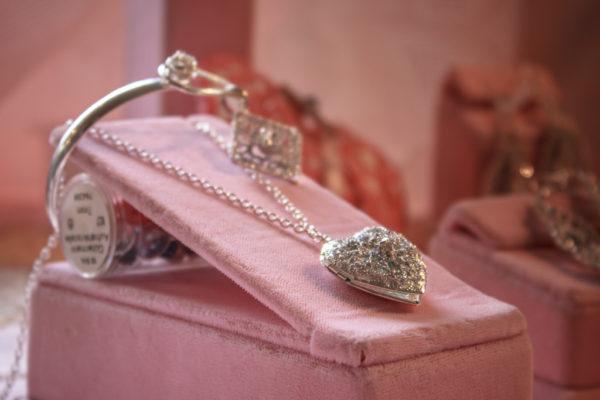 collana cuore d'argento