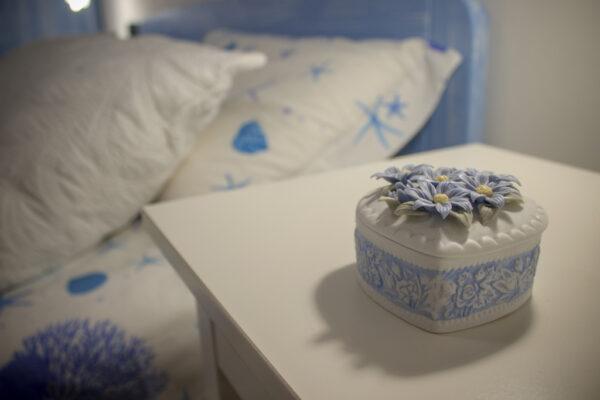 photo macro blue